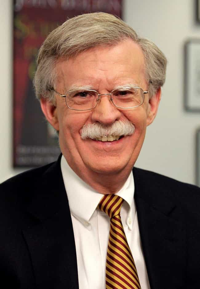 John Bolton - Fired is listed (or ranked) 68 on the list Everyone Who Has Been Fired Or Resigned From The Trump Administration So Far
