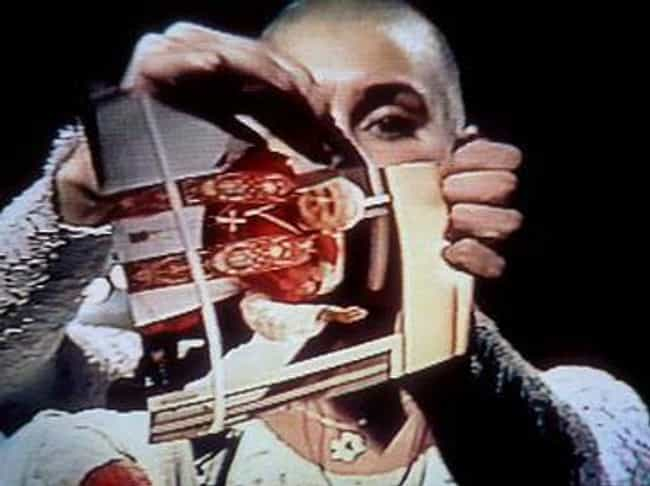At The End Of The Song, O'Conn... is listed (or ranked) 3 on the list An In-Depth Behind-The-Scenes Look At Sinead O'Connor's Controversial 'SNL' Appearance