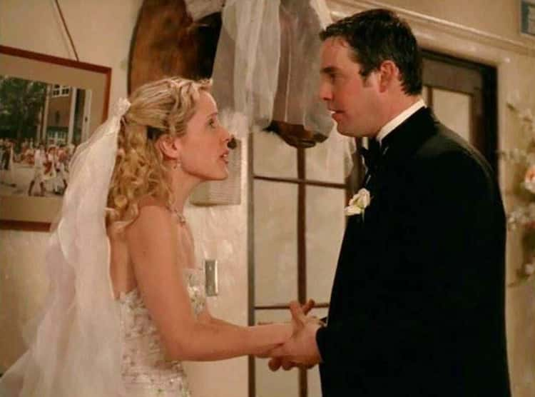 He's Very Mean To Anya And Bails On Her At The Altar