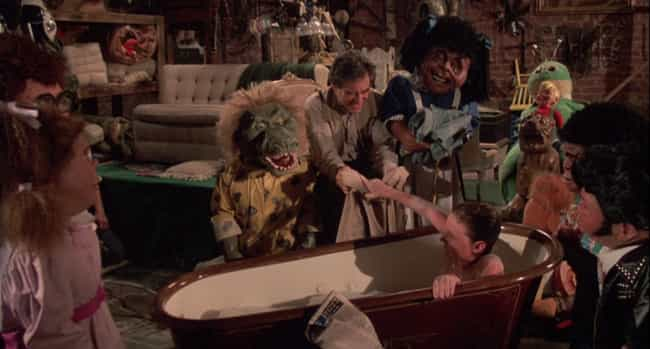 Captain Manzini Strips And Bat... is listed (or ranked) 2 on the list Remember How Repulsive The 'Garbage Pail Kids' Movie Was?