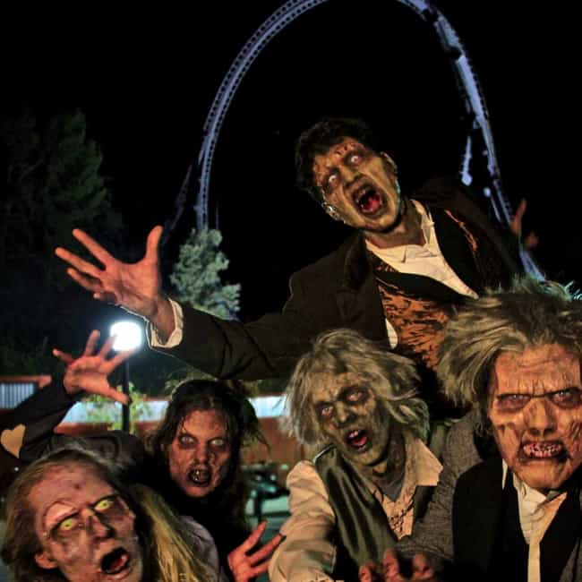 The Shadows is listed (or ranked) 4 on the list The 17 Scariest Attractions At Six Flags Fright Fest