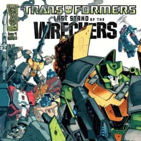 Transformers: Last Stand of th is listed (or ranked) 2 on the list The Best Transformers Comic Book Series, Ranked