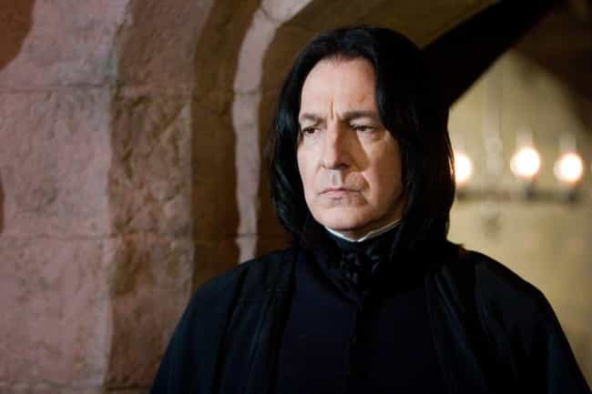 He Used Snape's Voice When Tal... is listed (or ranked) 2 on the list Regular People Who've Met Alan Rickman Describe What It Was Like