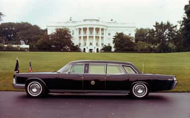 1972 Lincoln Continental is listed (or ranked) 2 on the list Every US Presidential State Car, Ranked