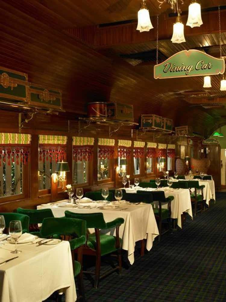 California - Pacific Dining Car