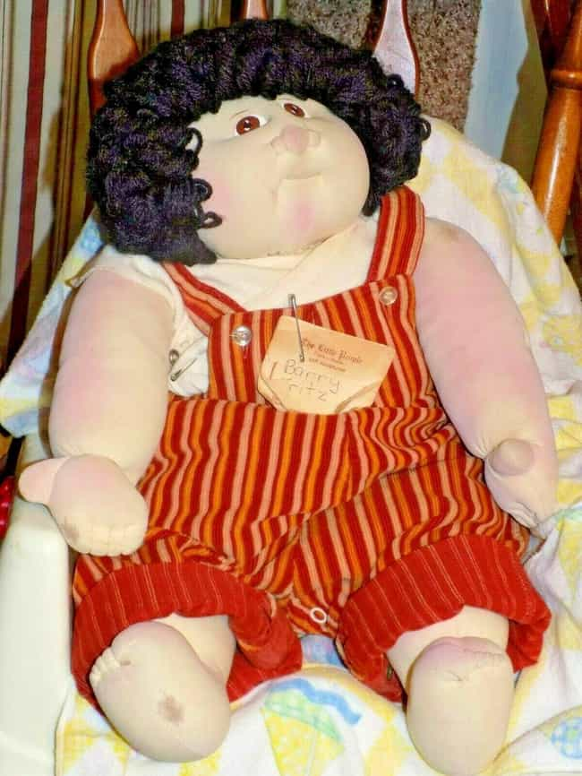 1979 Barry Fritz- Little... is listed (or ranked) 1 on the list Vintage Cabbage Patch Kids That Are Worth A Ton Of Money