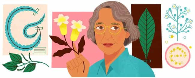 Ynés Mexía is listed (or ranked) 1203 on the list Every Person Who Has Been Immortalized in a Google Doodle