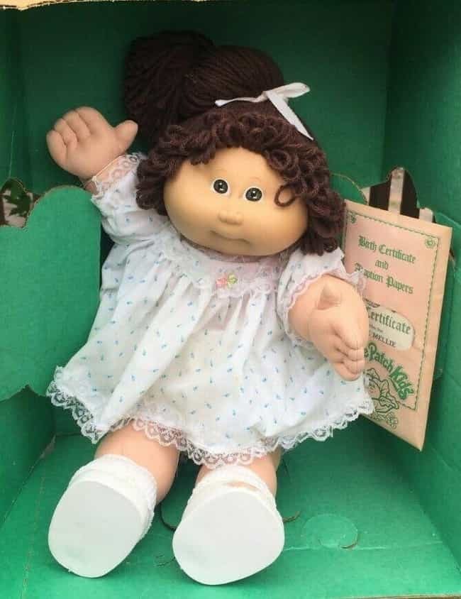 Vintage 1985 Yvonne Mill... is listed (or ranked) 2 on the list Vintage Cabbage Patch Kids That Are Worth A Ton Of Money