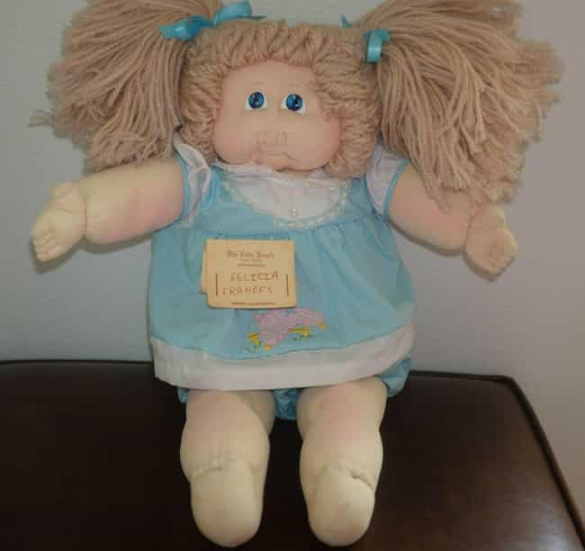 1979 Felicia Francis- Li... is listed (or ranked) 3 on the list Vintage Cabbage Patch Kids That Are Worth A Ton Of Money