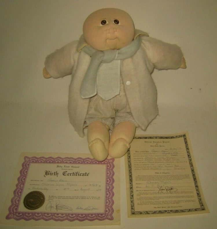 1979 Andrew Blair- Little People Doll With Birth Certificate