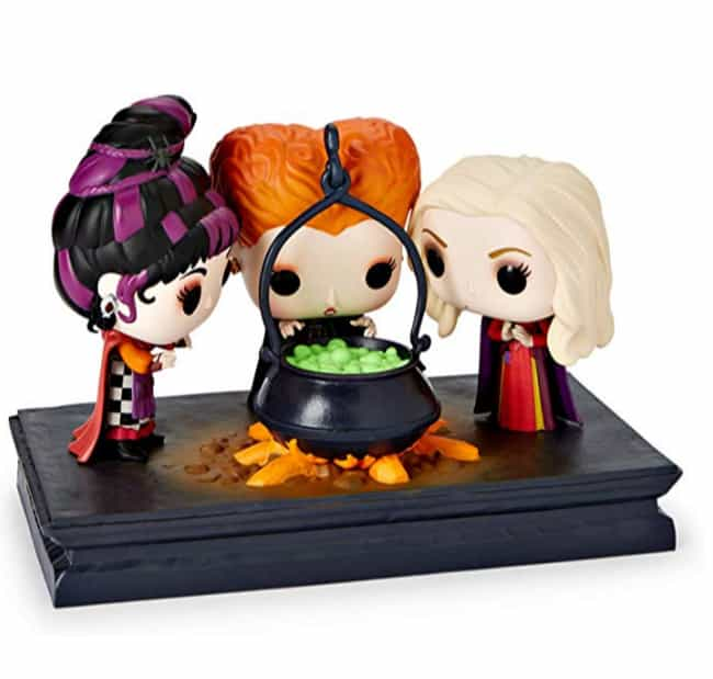 The Sanderson Sisters is listed (or ranked) 3 on the list The Cutest Funkos Of The Most Irredeemably Evil Characters