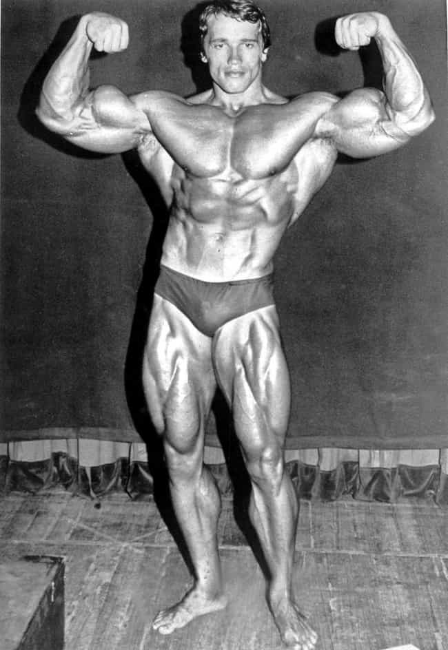 He Became The Youngest-Ever Mr... is listed (or ranked) 7 on the list Unbelievably Macho Tales About Arnold Schwarzenegger's Very Manly Life