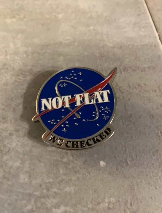 This NASA Pin is listed (or ranked) 1 on the list 16 Pictures On The Internet That Made Us Laugh A Lot
