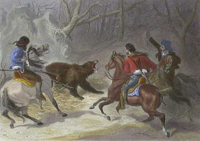 He Fought And Hunted Bea... is listed (or ranked) 4 on the list Unbelievably Macho Tales Of Davy Crockett From His Heyday