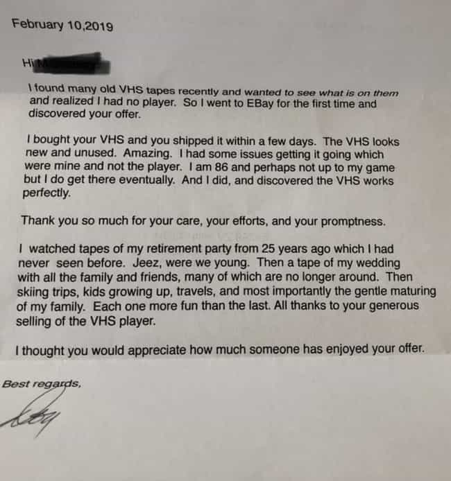 This Letter Someone Got After ... is listed (or ranked) 2 on the list 16 Pictures From The People Of The Internet That Will Probably Make You Ugly Cry