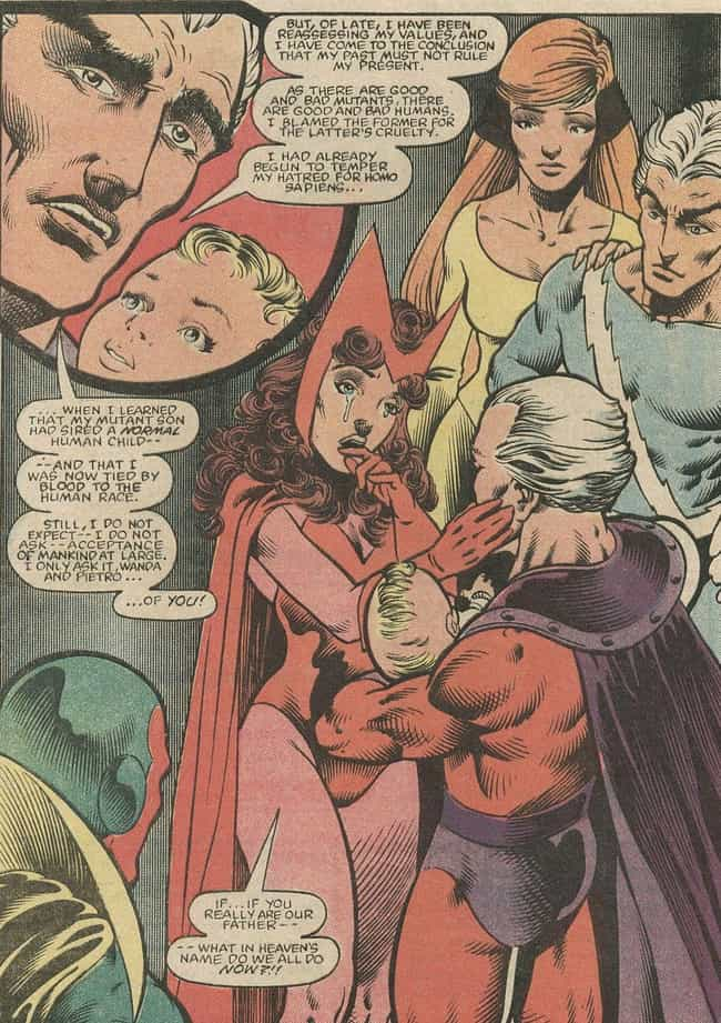 The Confusing Origin Of Wanda ... is listed (or ranked) 2 on the list The Scarlet Witch's Highly Confusing Powers, Explained