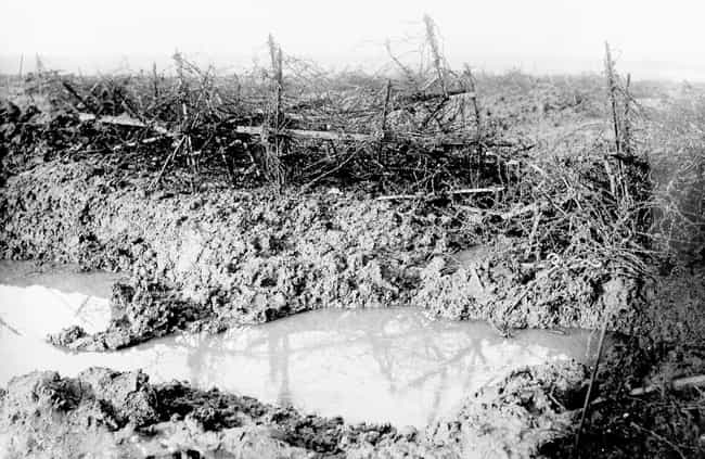 'It Was Like Pie Meat Fo... is listed (or ranked) 3 on the list WWI Soldiers Describe What It Was Like To Go 'Over The Top' In Trench Warfare