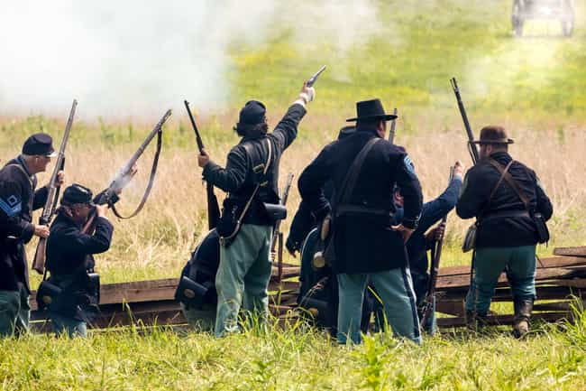 'I Saw A Guy Get Stabbed In Th... is listed (or ranked) 1 on the list Civil War Reenactors Describe What The Fake Combat Life Is Really Like