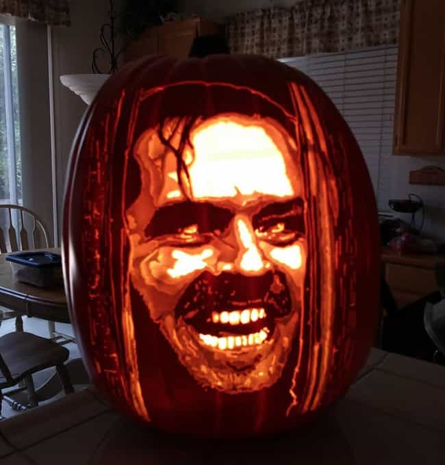 Jack Torrance is listed (or ranked) 3 on the list The Best Pumpkin Carvings By The Pumpkin Geek