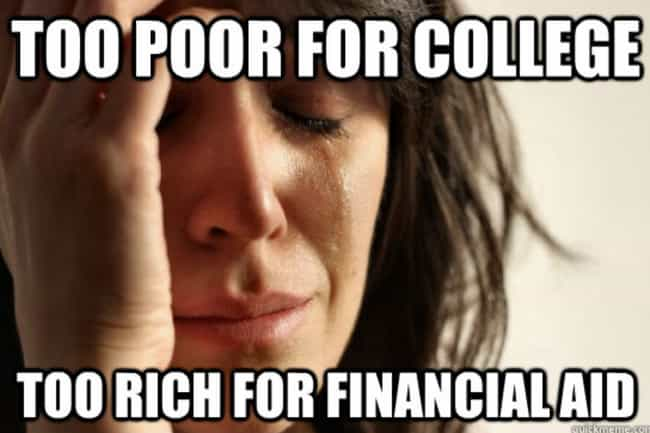 The Biggest First World Proble... is listed (or ranked) 3 on the list 17 Memes That Accurately Describe The Hell Of Being A College Student