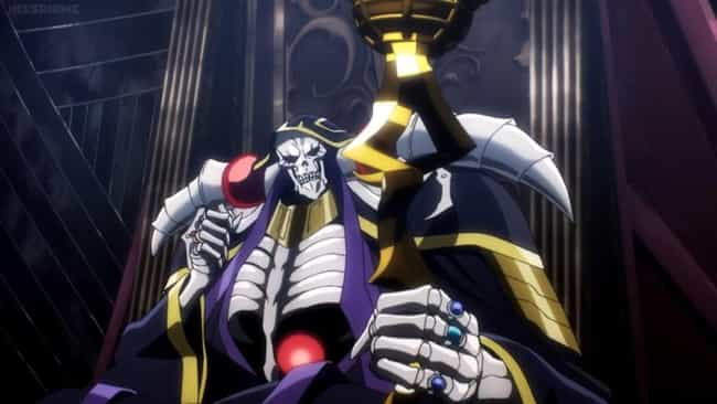 Ainz Ooal Gown - 'Overlord' is listed (or ranked) 3 on the list The 20 Greatest Isekai Protagonists, Ranked