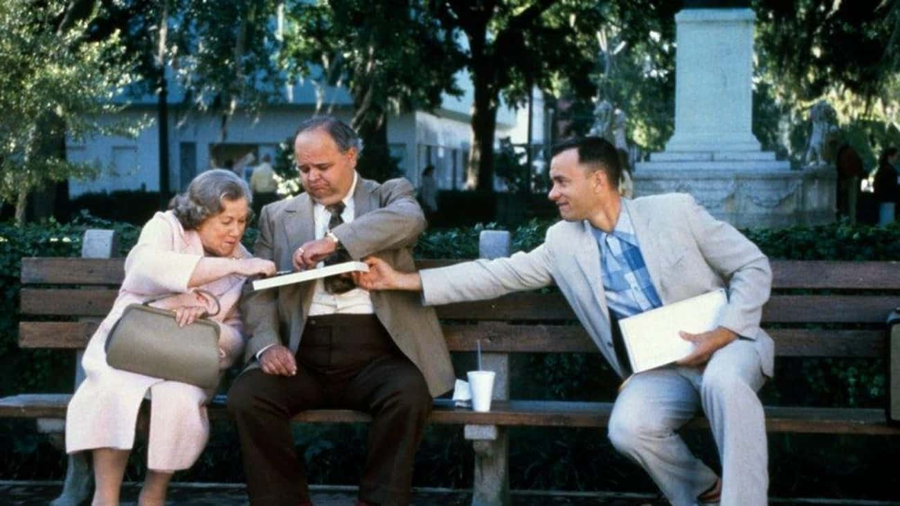 Forrest's Famous 'Box Of Chocolates' Quote Is Much Different