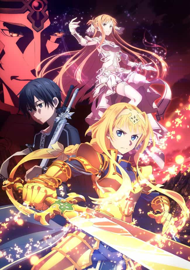 Sword Art Online: Aliciz... is listed (or ranked) 4 on the list The 20 Best Fall 2019 Anime You Should be Hyped For