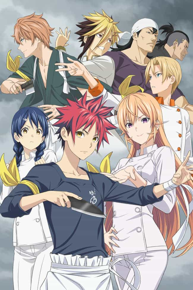 Food Wars! The Fourth Plate is listed (or ranked) 3 on the list The 20 Best Fall 2019 Anime You Should be Hyped For