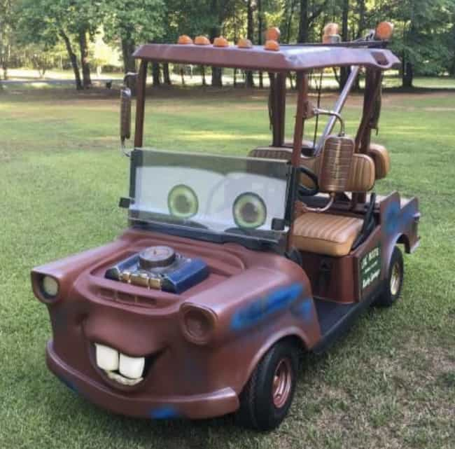 Mater Cart is listed (or ranked) 2 on the list 28 People Who Flawlessly Executed Their Awful, Awful Ideas
