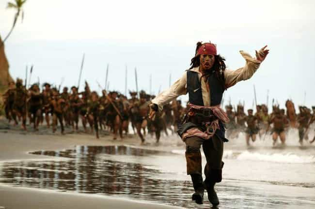 Johnny Depp Thought His Slurre... is listed (or ranked) 1 on the list Behind-The-Scenes Stories From Making The 'Pirates Of The Caribbean' Franchise