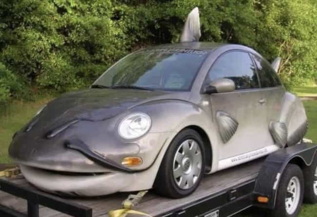 Fish Car is listed (or ranked) 3 on the list 27 Cars That Make You Go