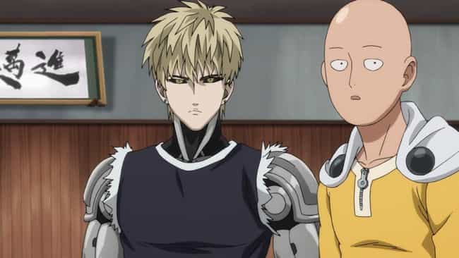 Genos - 'One Punch Man' is listed (or ranked) 4 on the list The 15 Most Loyal Anime Characters Who Always Have Your Back