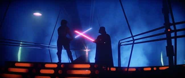 Duel In The Carbon Freezing Ch... is listed (or ranked) 2 on the list Cinematography Of 'Star Wars': The Best Shots From The Entire 'Star Wars' Saga
