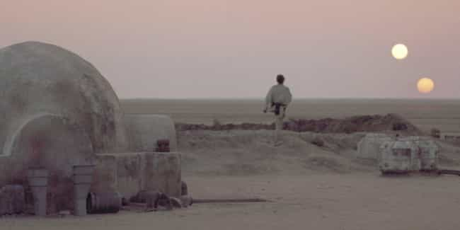 Twin Suns is listed (or ranked) 1 on the list Cinematography Of 'Star Wars': The Best Shots From The Entire 'Star Wars' Saga