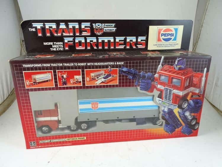 Optimus Prime's Rare Pepsi Promo Toy Leaves People Thirsty For More