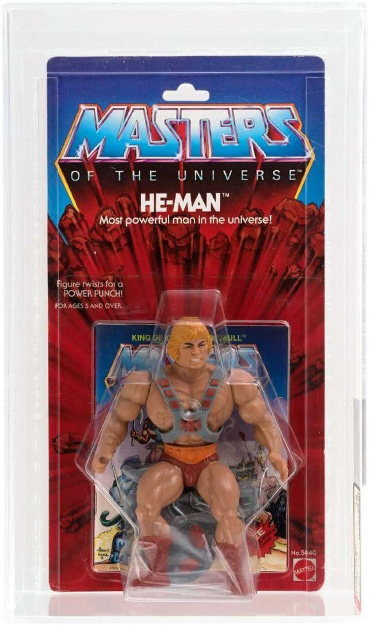 Classic He-Man Action Figures Are Outlifting The Competition By Selling For Insane Amounts On eBay