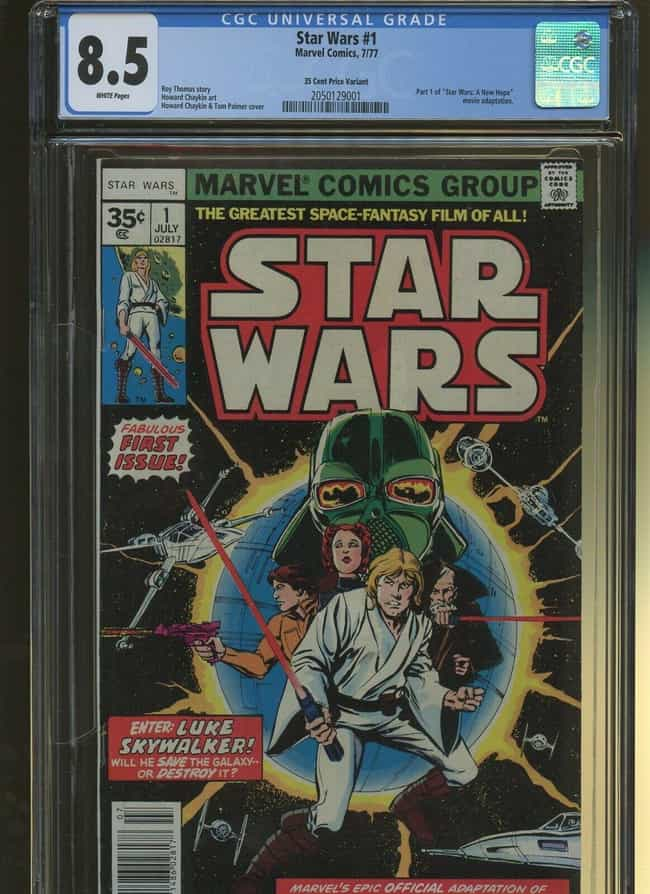 Vintage Comics Like This 35-Ce... is listed (or ranked) 3 on the list These '70s Collectibles Are Worth A Ton Of Money Now