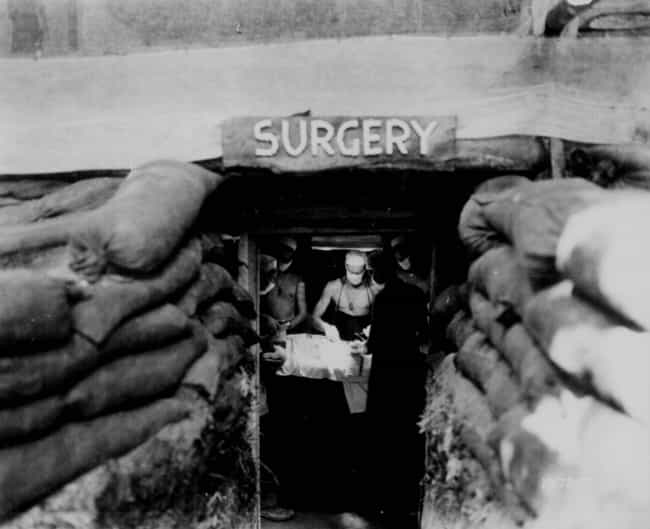 'Once The Shooting Started, Th... is listed (or ranked) 4 on the list Firsthand Accounts From WW2 Field Medics