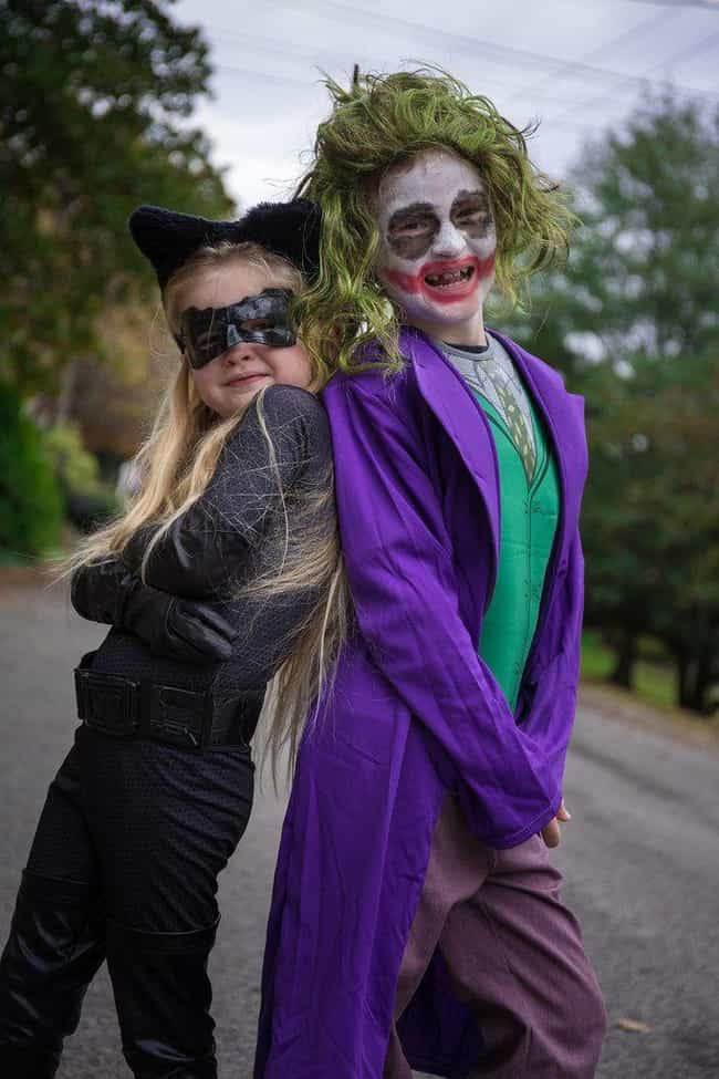 A Cat And A Joker is listed (or ranked) 4 on the list The Best Joker Halloween Costumes