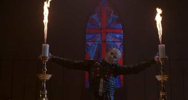 They Gave Pinhead The Freddy K... is listed (or ranked) 2 on the list How 'Hellraiser III' Plunged The Horror Franchise Into True Idiocy