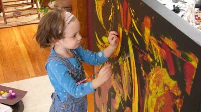 At Just 4 Years Old, Marla Olm... is listed (or ranked) 1 on the list 'My Kid Could Paint That' Cast Doubt On A Child Prodigy And Questioned The Integrity Of Art