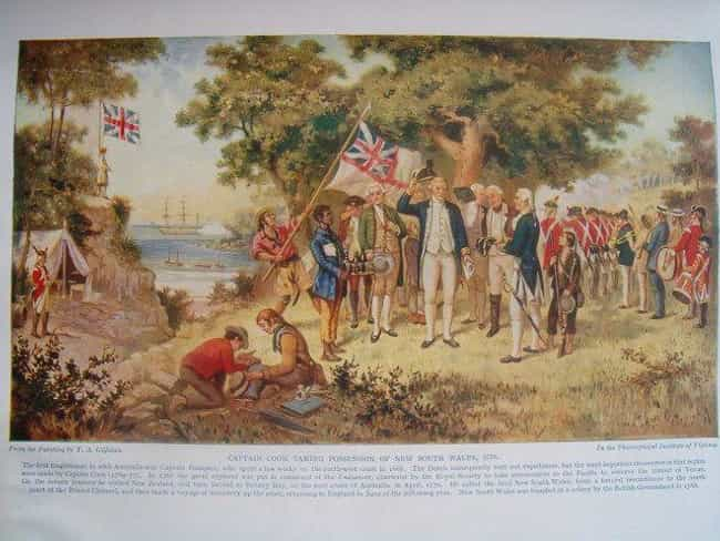Captain James Cook Claim... is listed (or ranked) 4 on the list How Exactly Did Australia Become England's Penal Colony?