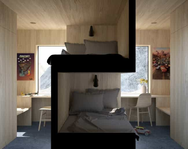 This Design For A College Dorm... is listed (or ranked) 3 on the list We Found 16 Random Pictures From The Internet That Are Weirdly Fascinating