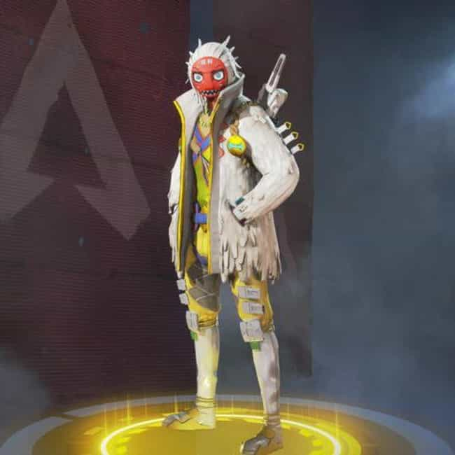 Masked Dancer is listed (or ranked) 4 on the list The Best Crypto Skins In 'Apex Legends'