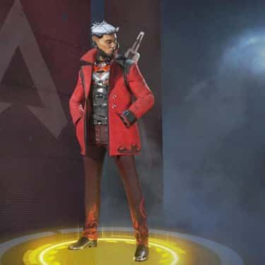 Devil's Advocate  is listed (or ranked) 2 on the list The Best Crypto Skins In 'Apex Legends'