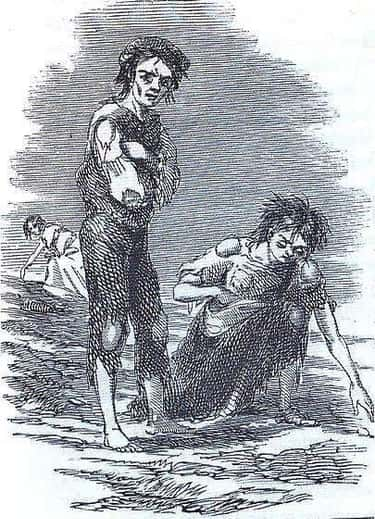 'The Horrors Of Poverty Became Visible, In The Vast Number Of Famished Poor'