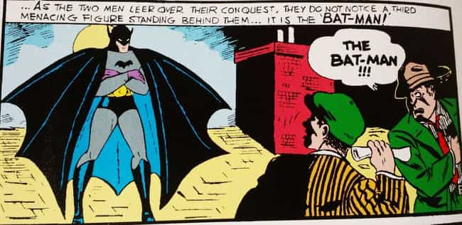 1939: The Debut is listed (or ranked) 1 on the list The Visual Evolution Of Batman's Batsuit