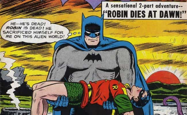 1940s/1950s: The Golden ... is listed (or ranked) 2 on the list The Visual Evolution Of Batman's Batsuit