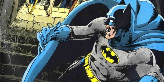 1970: Neil Adams's Bronz... is listed (or ranked) 4 on the list The Visual Evolution Of Batman's Batsuit