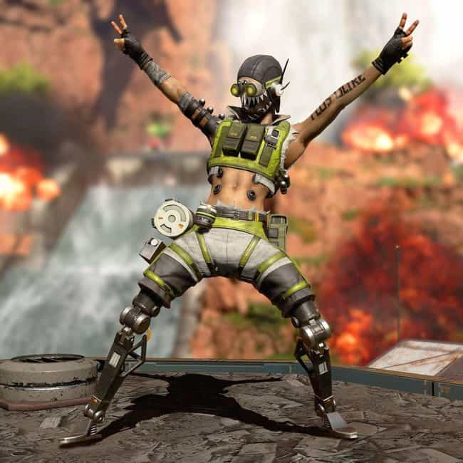 Octane is listed (or ranked) 4 on the list All The Legends In 'Apex Legends,' Ranked